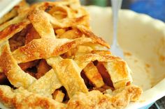 honey apple pie by The Red Spoon, via Flickr