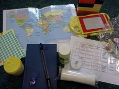 Flame: Creative Children's Ministry: Pray at home bag for 5-11s @ http://flamecreativekids.blogspot.co.uk/2012/06/pray-at-home-bag-for-5-11s.html