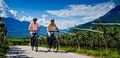 bike rental and route info for south tyrol (ride and bus here, then get car for western exploration?