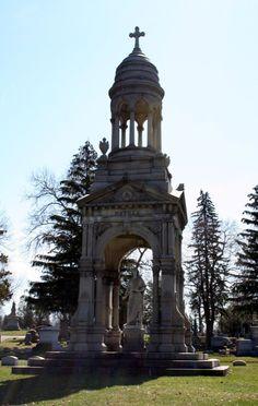 Forest Hill Cemetery, Utica, NY., est. 1850 #oneidacountyny