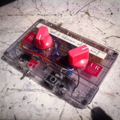 do you know #korg's #MS20 #synthesizer? this is their famous #analog filter, modified to single power supply, self design #PCB, fitted in a #cassette #tape, workshop by flipfloater. this is the prototype of filter #mixtape at anyma research week.  #8bitmixtape #filtermixtape #DIY #DIYelectronics #SYNTHDIY #electronics #mixtape #synth