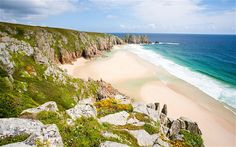 The best places to pitch a tent by the sea across Britain, from Cornwall to… Camping Am Meer, Camping Europe, Camping Club, Camping Places, Places To Travel, Places To Visit, Camping Tips, Camping Sites Uk, Outdoor Camping