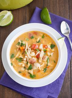 Chipotle Chicken Chowder by traceysculinaryadventures #Soup #Chicken #Chipotle