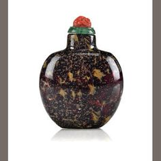 A Peking glass snuff bottle