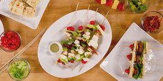 Cobb Salad Skewers | 31 Foods On A Stick That Are Borderline Genius