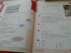 Rode blz van het wiskunde boek
