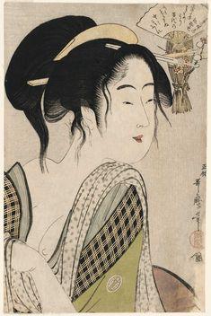 Love for a Farmer's Wife by Kitagawa Utamaro
