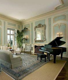 Saló amb piano