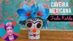 DIY: CAVEIRA MEXICANA INSPIRADA NA FRIDA KAHLO
