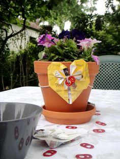 Flower Pots instead of cut flowers!