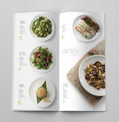 Special spring menu by Alexandra Teptyareva Menu Board Design, Food Menu Design, Food Poster Design, Carta Restaurant, Restaurant Menu Design, Restaurant Identity, Food Graphic Design, Web Design, Food Catalog