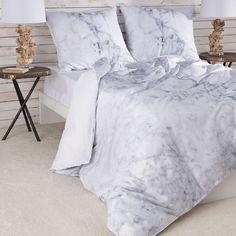 #Marble Optik ist gerade voll im Trend, und diese #Bettwäsche definitiv ein Hingucker