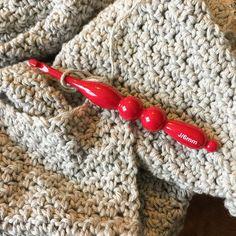 So glad Hobby Lobby decided to print the size on the hook! I had to write down the other ones I have and memorize it! . . #crochet #crocheter #crocheters #crochetersofinstagram #crochetersoftheworld #yarn #ilovethisyarn #hobbylobbyyarn #crochetaddict #crochetlife #crochetlove #designsbyphanessa #handmadebyphanessa #ourmakerlife #knittersofinstagram #knitting #vkdtbo #handmade #yarnporn