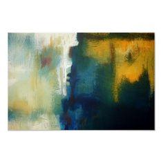 Modern Art Abstract Painting Art Print Poster