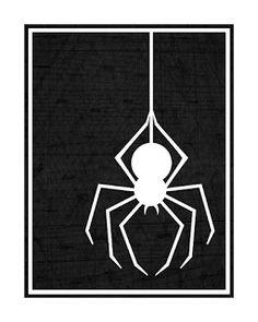Kinzie's Kreations: Halloween Spider Printable