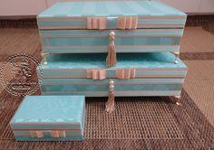 Tudo em Caixas - Caixas em MDF e Tecido (67)3211-7767: Caixas Casamento - Toaletes (0028CAS), Kit de produtos personalizados(0129CAS) e Kit Costurinha - Sonaly