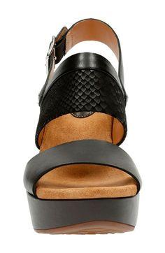 769420af1be5 Clarks®  Caslynn Kat  Wedge Sandal (Women)
