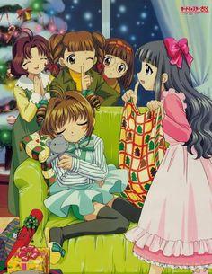 CLAMP - Card Captor Sakura【Rika, Chiharu, Naoko, Sakura & Tomoyo】