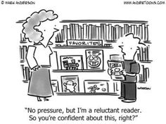 A little reading humor for today. Enjoy your Friday! #EducationHumor