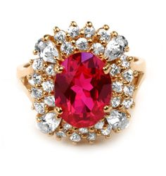 Veronica Lake's beautiful Ruby Kiss ruby and diamond ring
