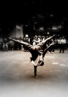 Cool photo... Breakdance