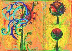 ROSE CANAZZARO (©2014 rosecanazzaro.com) #gravura é produzida na técnica de giclée / fineart. O artista produziu a imagem e deu acabamento digital em uma tela de computador e depois deu saída em uma impressora de #fineart em papel 100% algodão. Valores a combinar. — com Rose #Canazzaro. rcanazzaro@hotmail.com UNI DUNI TÊ: A LINGUAGEM POÉTICA DAS FORMAS, 2014 - ROSE CANAZZARO - Técnica mista Tiragem 50