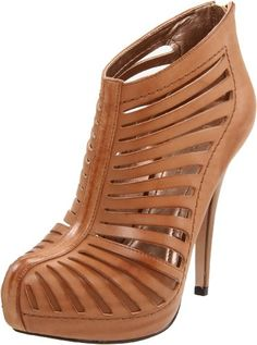 $132.05-$139.00 With its wild and sexy style, the Eddah booties from BCBGeneration are sure to be a hit in your wardrobe.Leather upper in a platform dress bootie style with an almond toeZipper heel cupCutout slit details with stitching accentsSmooth lining, cushioning insole1 inch wrapped platform midsoleSmooth rubber outsole4 1/2 inch partially wrapped heel