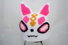 Fortnite Drift Hat - Free Crochet Pattern Crochet Geek, Love Crochet, Double Crochet, Knit Crochet, Crochet Hats, Crochet Flowers, Crochet Character Hats, Crochet Winter, Crochet Slippers