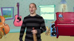 Mr. Greg's Musical Madness - Recycled Instrument!