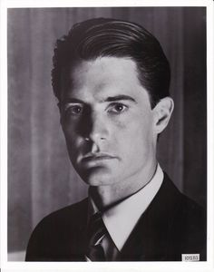Twin Peaks Kyle MacLachlan Agent Cooper Head Shot 8 X 10 Photo