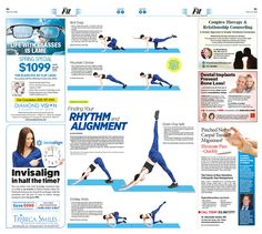 Finding Your Rhythm and Alignment|Epoch Times #Fitness #Workout #CrossFitSolace #newspaper #editorialdesign