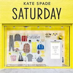 How Clever Are Kate Spade's Saturday Pop-Up Windows?