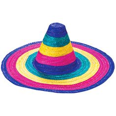 Cinco de Mayo Hats & Headwear Child Rainbow Sombrero Image