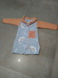 Bata reciclada de mantas de bebe