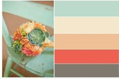 I just picked up very similar paint chips for my kitchen over the weekend!