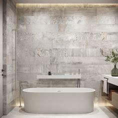 Master bathroom #masterbathroom #modernbathroom #minimalisticbathroom #ideasforbathroom #minimalism #minimalisticarchitecture #minimalisticinterior #architecture #modernarchitecture #design #minimalisticdesign #bathroom Minimalist Interior, Minimalist Design, Modern Bathroom, Master Bathroom, Minimalism, Modern Architecture, Alcove, Bathtub, House Design
