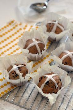 Recepten voor de Paasbrunch: hot cross muffins