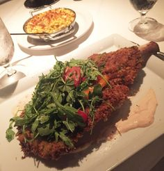 Veal Chop Milanese from Red in Cleveland.