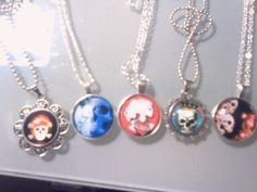 ☠☩☠CHOOSE 1~Skull Necklaces☠☩☠