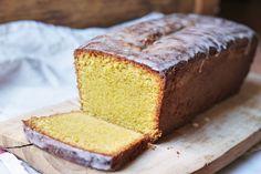 Pistachio Polenta Pound Cake