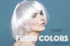 "nice Bloginvoga Exclusives | Marina Fiatconski by Erika de Faria in ""Fresh Colors""  [Beauty]"