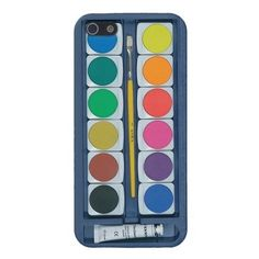 water colors iphone case