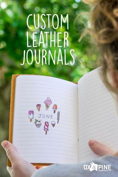 Our journals come in a variety of colors, styles, sizes and closure types to ensure you can find exactly the right combination for your needs. They're high quality, last forever, and look so good! Leather Gifts, Handmade Leather, Leather Journal, Ox, Art Journaling, Journals, Pine, Bullet, Closure