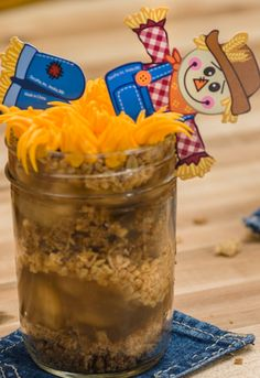 How-To Make Easy Scarecrow Treats-in-a-Jar