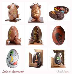 Huevos Pascua-Jadis et Gourmande