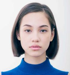 Kiko Mizuhara: Japanese model and actress Short Straight Haircut, Short Hair Cuts, Short Hair Styles, Beauty Makeup, Hair Makeup, Hair Beauty, Bob Hairstyles, Straight Hairstyles, Bob Haircuts