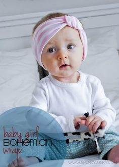 Spunky Junky: DIY: Baby Girl Bohemian Wrap
