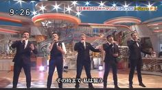 Collabro on Japanese TV