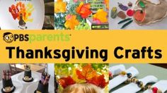 Fall into the holiday spirit with these fun and creative Thanksgiving crafts from @pbsparents!