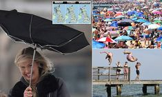 Bank Holiday heatwave! 'Monsoon May' is set to be replaced by 73F heat Spring Bank Holiday, Bank Holiday Weekend, Uk Weather, Weather Forecast, Faberge Eggs, East Sussex, Lifeguard, East London, Monsoon